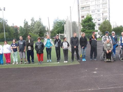 ПОЗДРАВЛЯЕМ ПОБЕДИТЕЛЕЙ! Открытого первенства Невского района по легкой атлетике среди лиц с ограниченными возможностями здоровья.
