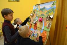 Отчет о тематическом занятии «Осенние заботы Смешариков»